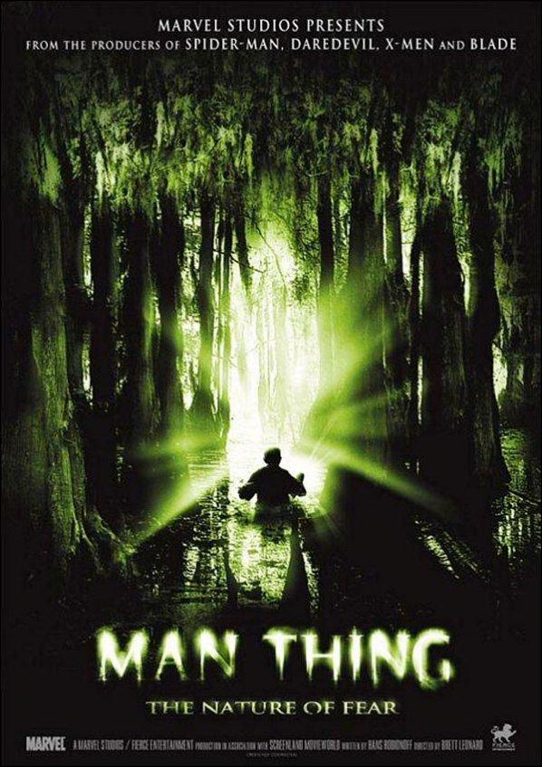 Man-Thing: La naturaleza del miedo (2006)