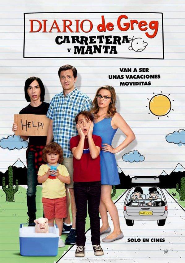 Diario de Greg: Carretera y manta (2017)