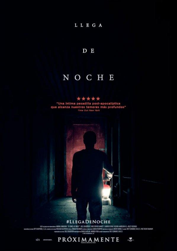 Llega de noche (2017)