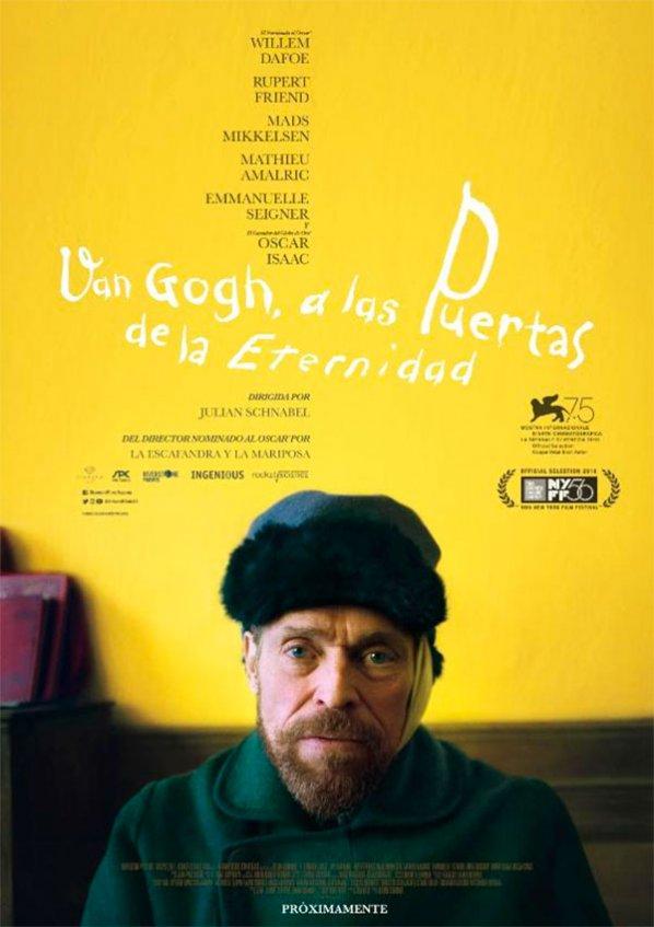 Van Gogh, a las puertas de la eternidad (2019)