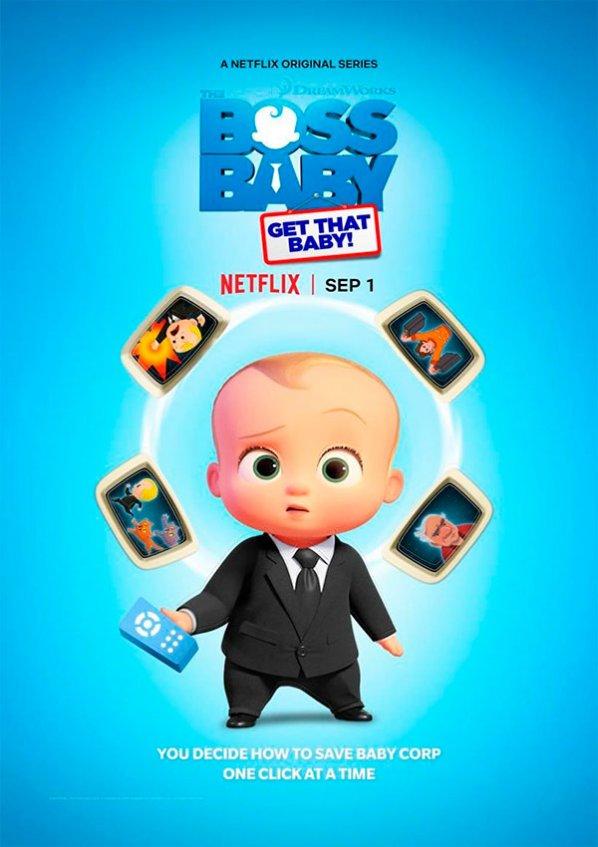 El Bebé Jefazo: ¡Atrapa al Bebé! (Netflix   Interactiva) (2020)