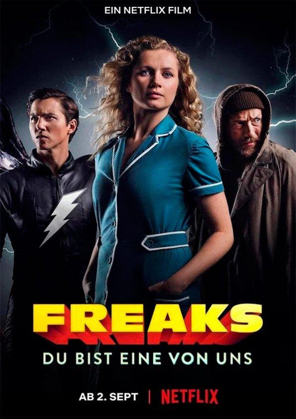 Freaks: 3 Superhéroes (Netflix) (2020)